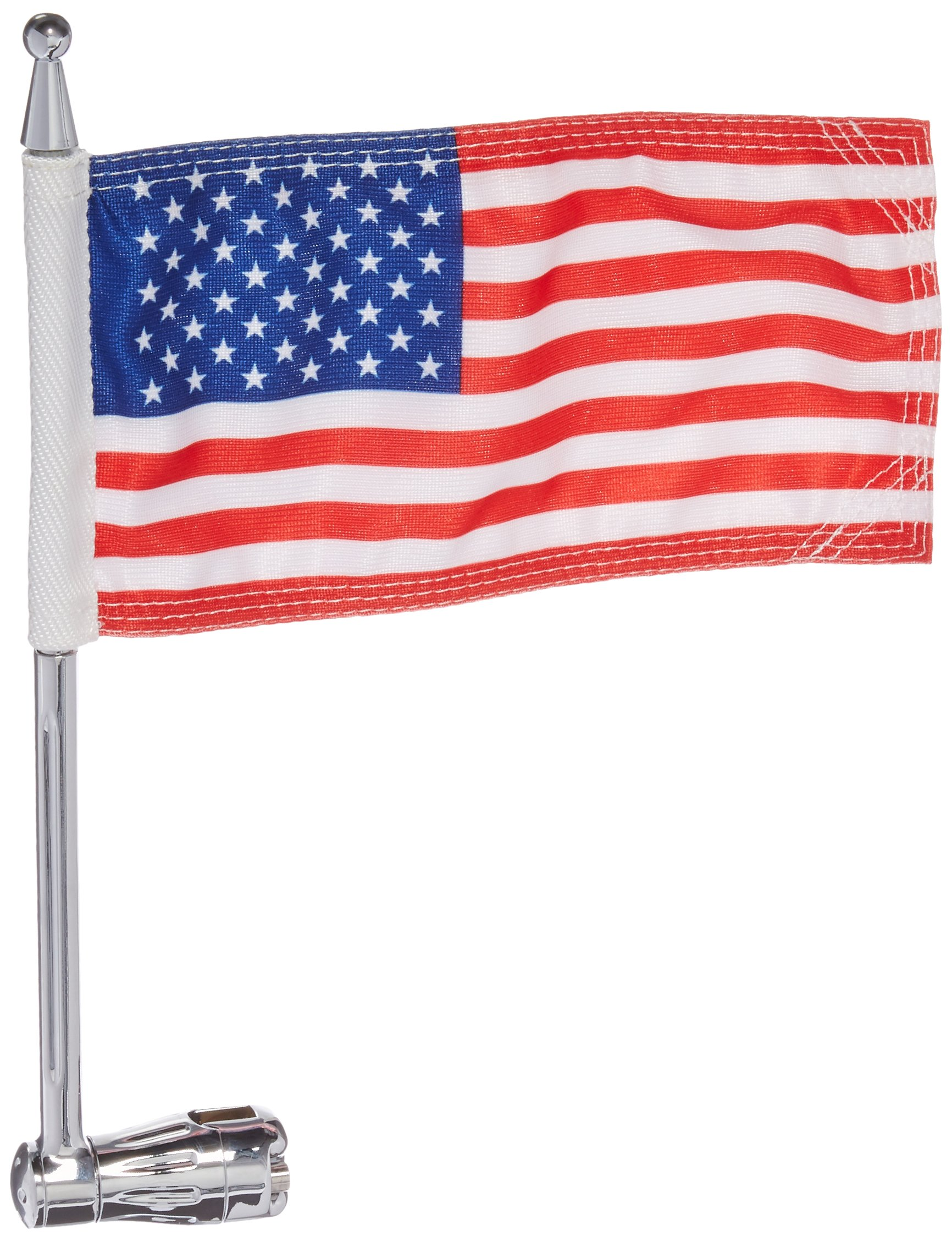 Kuryakyn 4260 Flag Pole for Luggage Rack
