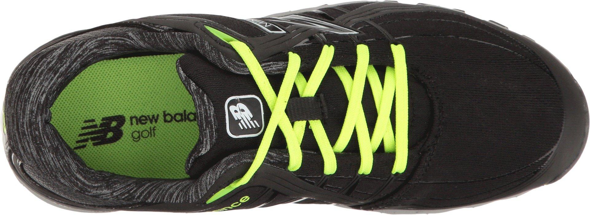 New Balance Women's nbgw1005 Golf Shoe, Black/Lime, 7.5 B US by New Balance (Image #2)