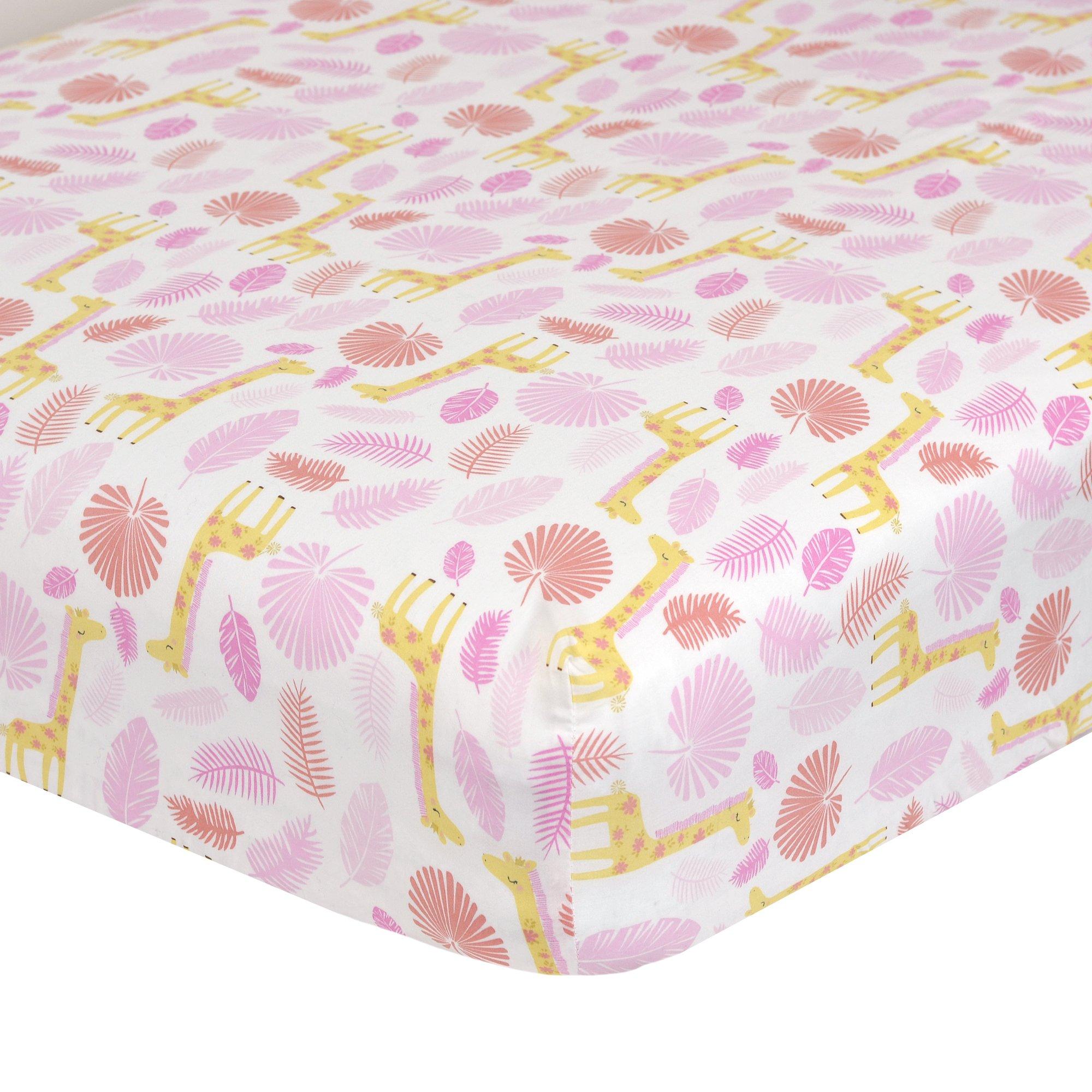 Amazon Com Just Born Jungle 3 Piece Crib Bedding Set