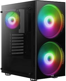 COOLBOX CAJA PC GAMING DEEPRUNNER ARGB ATX USB SIN FUENTE: Coolbox: Amazon.es: Informática