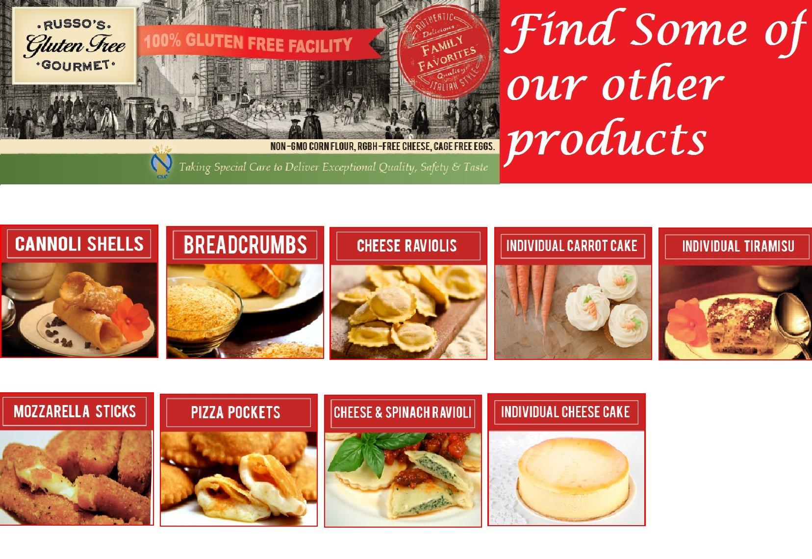 Russo's Gluten Free Bulk Plain Breadcrumbs (15 LB)