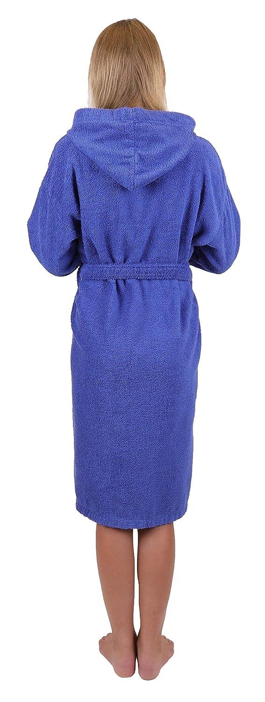 BETZ Peignoir de Bain Capuche Nizza en Tissu /éponge 100/% Coton Femme Homme Enfant Peignoir de Sport en Couleurs et Tailles diverses 128-164 et S-XXL 128 - Anthracite
