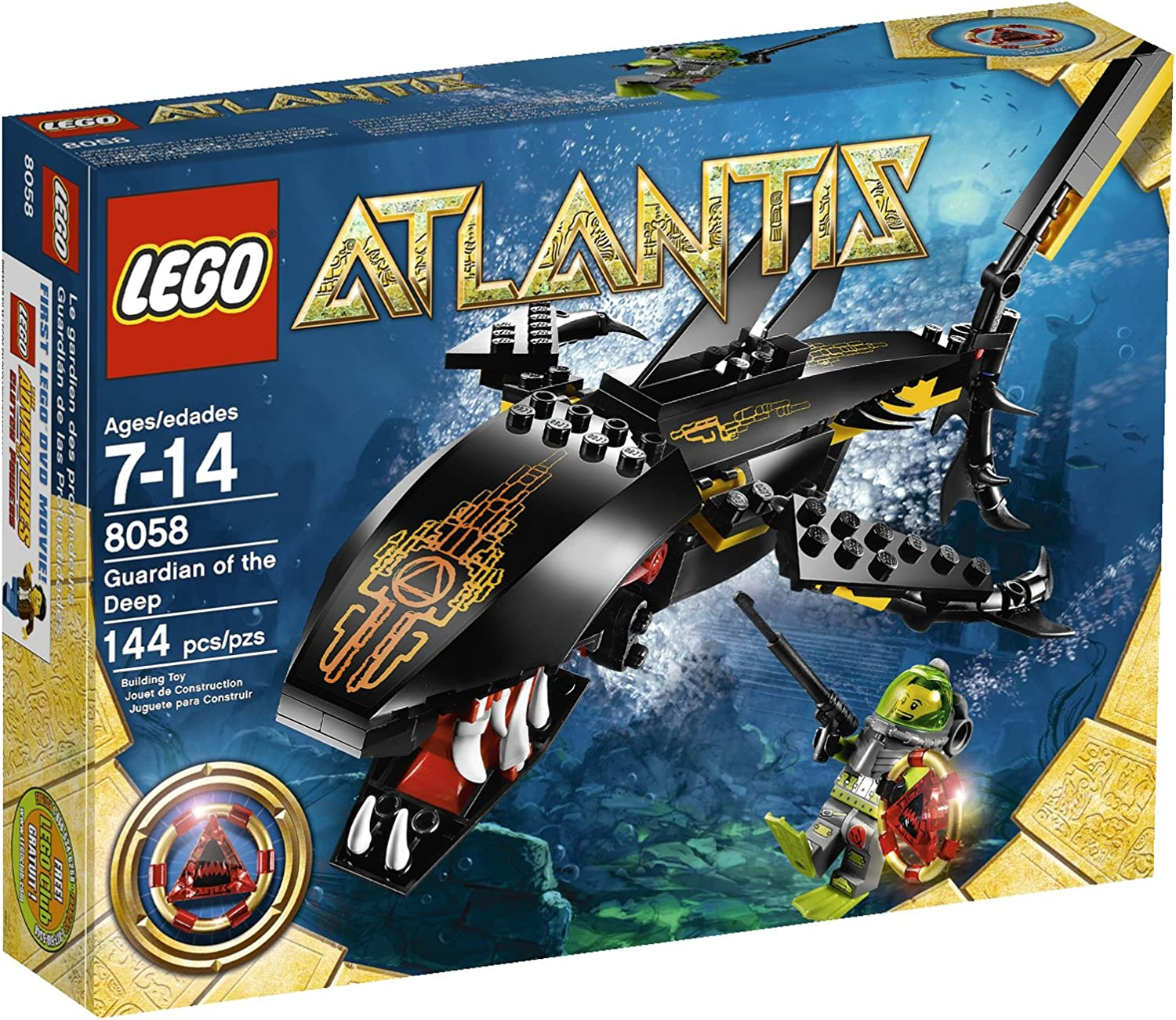 Top 9 Best LEGO Atlantis Sets Reviews in 2020 3