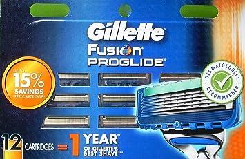 Fusion ProGlide Razor Blades12 pack 100% Authentic, New