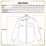 Alberto Danelli Men's Long Sleeve Dress Shirt with