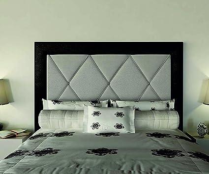 FACTORY MUEBLES - Cabecero polipiel Aristo con marco, para cama de ...