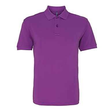 Asquith & Fox Asquith and Fox Mens Polo, Morado (Orchid 000), X ...