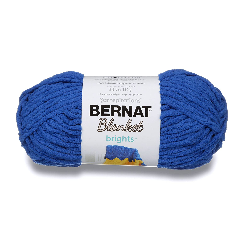 Bernat毛布Brights Bigボール糸 Small Ball 16121313006 B01CUX63JQ ロイヤルブルー Small Ball