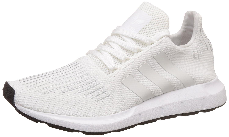 Adidas Swift Run, Zapatillas de Deporte para Hombre 38 EU|Blanco (Footwear White/Crystal White/Core Black)