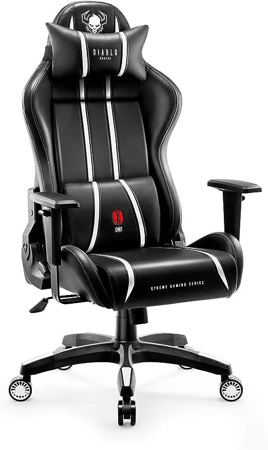 Diablo X-One 2.0 Silla Gaming para Niños Gamer Oficina Sillon de ...