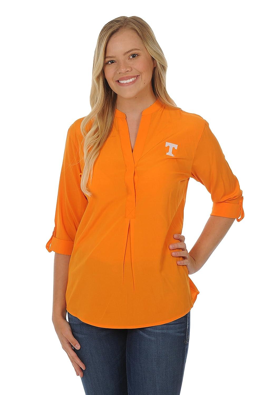 ボタンダウンチュニック B0728MPQFP Large|ライトオレンジ|Tennessee Volunteers ライトオレンジ Large