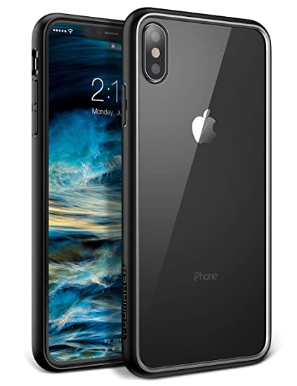 e53e78ab352737 YOUMAKER Premium Crystal Clear Hybrid Case for iPhone Xs Max, Slim Fit  Lightweight Bumper Scratch