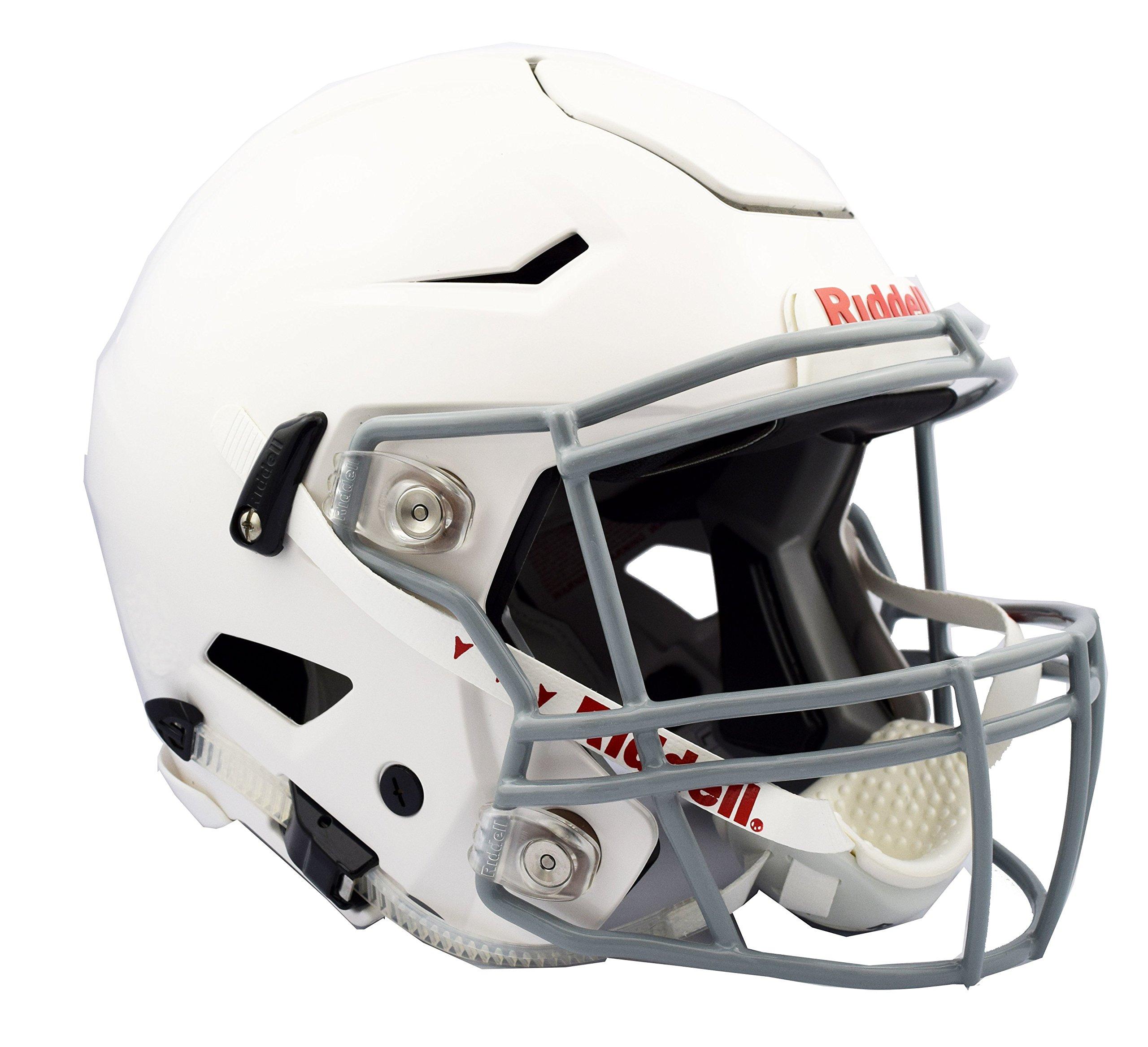 Riddell Speedflex Youth Helmet, White/Gray, Small