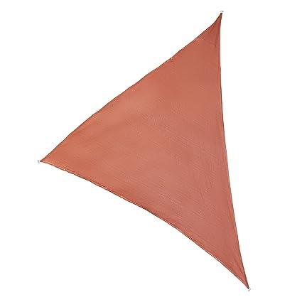 Ultranatura Ibiza - Toldo Vela Triangular, Color Terracota