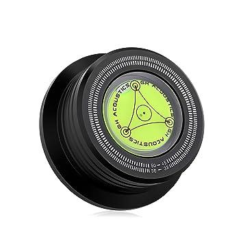 nobsound 3 en 1 – 50 hz Record Weight Tocadiscos vinilo Clamp LP Disc Stabilizer stroboscope grados ienter placa Peso
