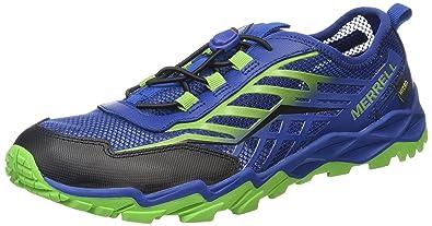 Merrell Hydro Run - Trekking y Senderismo Zapatos de Senderismo y Botas de montaña, Color Mehrfarbig, Talla 32 EU: Amazon.es: Zapatos y complementos