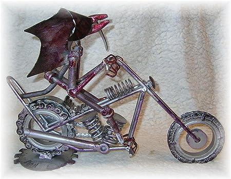 Super moto Chopper bicicleta de carreras para la gasolina cabezas: Amazon.es: Hogar