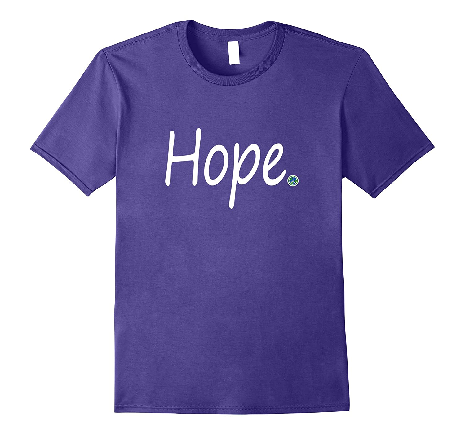 Inspirational Journey Tshirts Hope 2 World Peace Point-Vaci