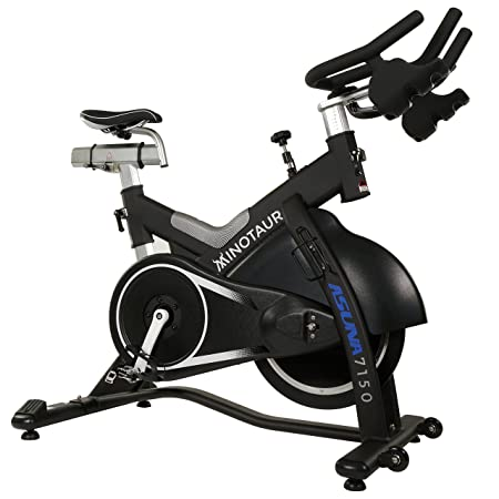 ASUNA Minotaur Cycle Exercise Bike – Magnetic Belt Drive High Weight Capacity Commercial Indoor Cycling Bike