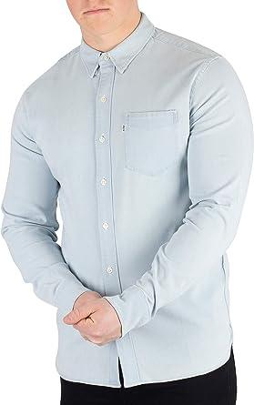 Levis Hombre Camisa de Bolsillo al Atardecer, Azul, XX-Large: Amazon.es: Ropa y accesorios