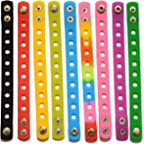 9 Colors 7 Inch Wristbands Silicon Bracelets for Kid Party Gifts clog and shoe Charms