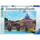 Ravensburger - 16686 2 - Puzzle - Le Pont Sant-Anges à Rome - 2000 Pièces