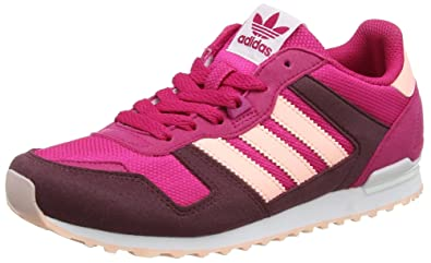 adidas Originals ZX 700 J, Sneakers Basses Fille, Rose (Bold Pink/Haze