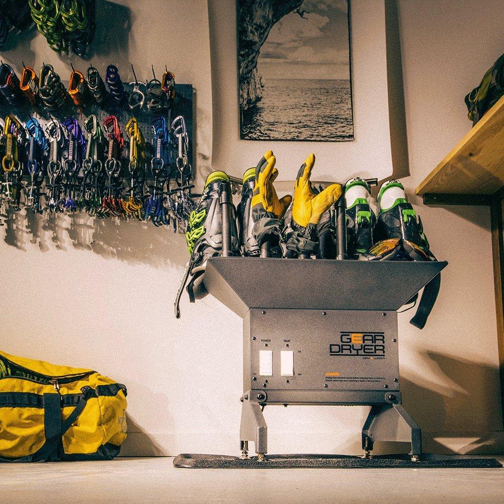 GearDryer Freestanding 12 Boot Glove Dryer | 6 Pair Boot, Shoe Glove Dryer | Dryer Warmer Ski Boots, Work Boots, Athletics, Helmets More by GEAR DRYER DRY = WARM (Image #7)