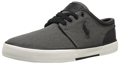 49d9791cc7235 POLO RALPH LAUREN Men s Faxon Low Sneaker  Amazon.co.uk  Shoes   Bags