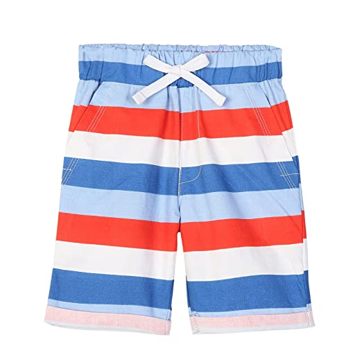036677264561b Amazon.com: HowJoJo Boys Striped Shorts Kids Cotton Shorts Summer ...