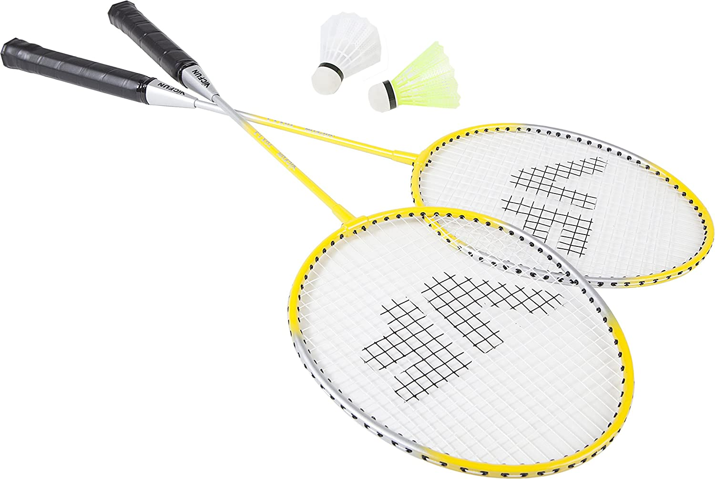 Vicfun Hobby Set B Badminton Set - Yellow/Black 796/0/0