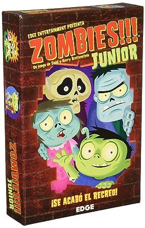 Zombies Junior Juego De Tablero Asmodee Edgtc50 Amazon Es