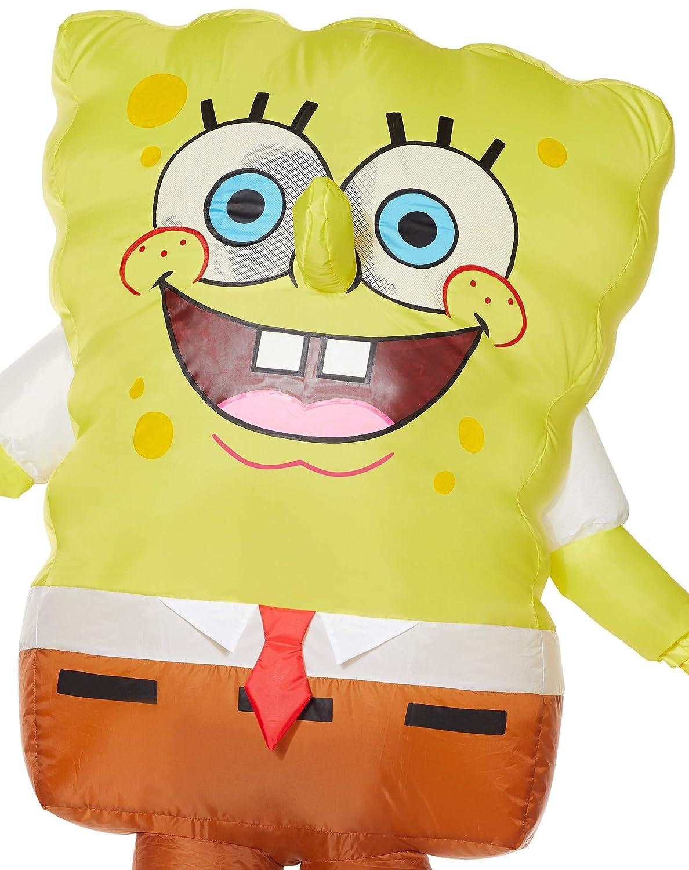 Amazon.com: Disfraz inflable de Bob Esponja para niños ...