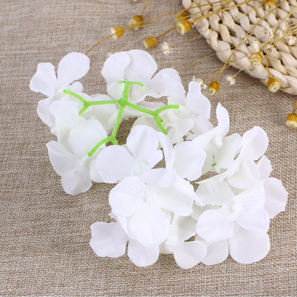 Amazon.com: Tinksky Hydrangea Flowers for Home Wedding Decoration ...