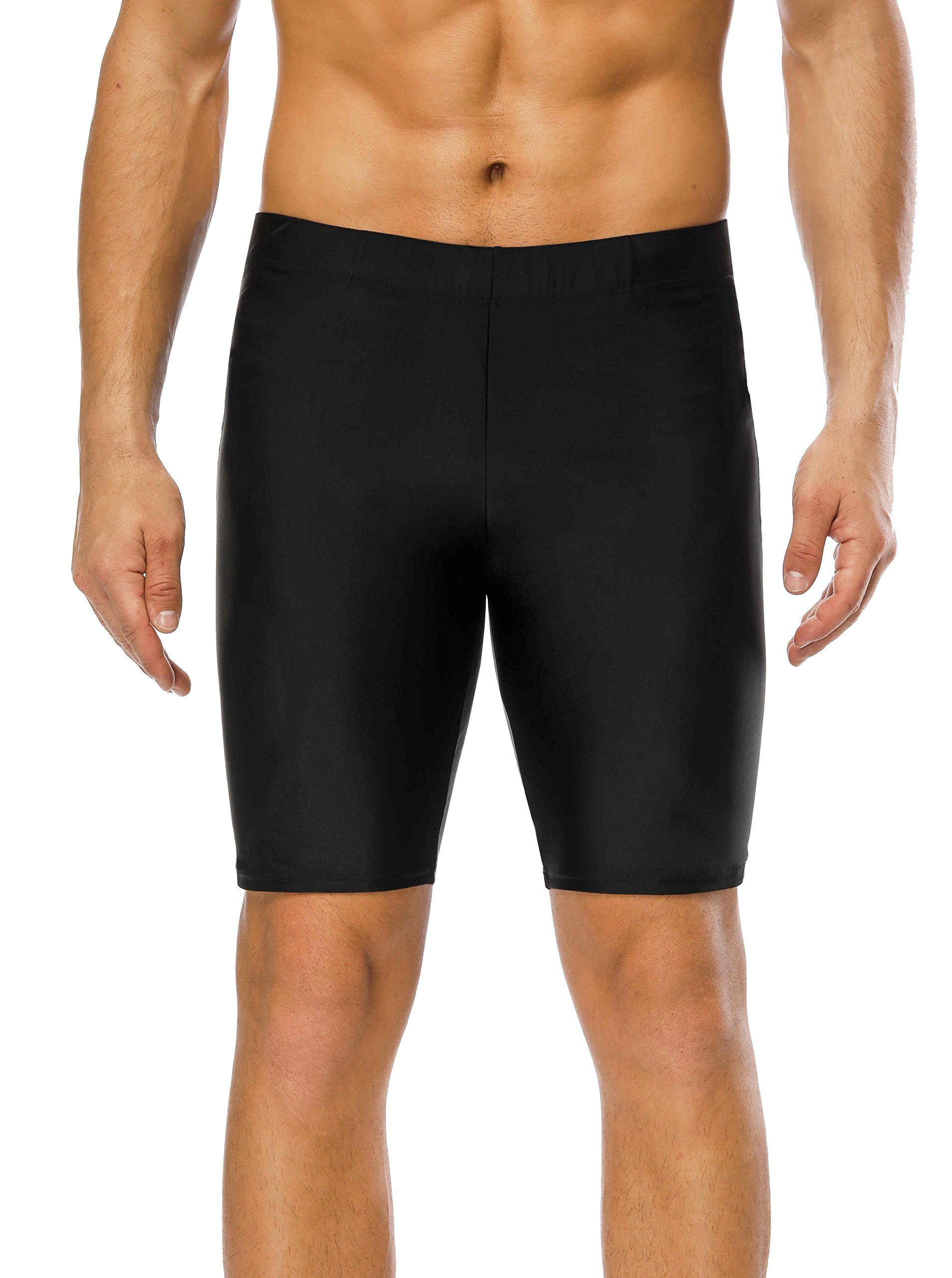 belamo Training Jammer pro Swimming Suits Solid Swimming Shorts for Men 32 by belamo