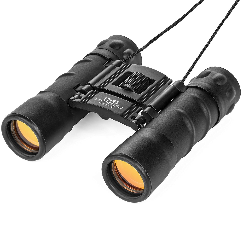 Lucky Bums Kids 10 x 25mm Binoculars, Black 133BK