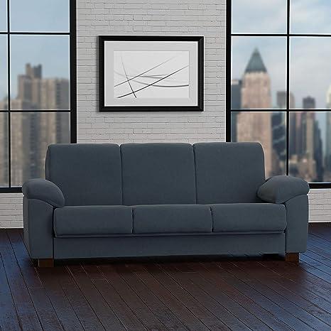 Amazon Com Handy Living Wrangler Convert A Couch Slate Blue Pebbles