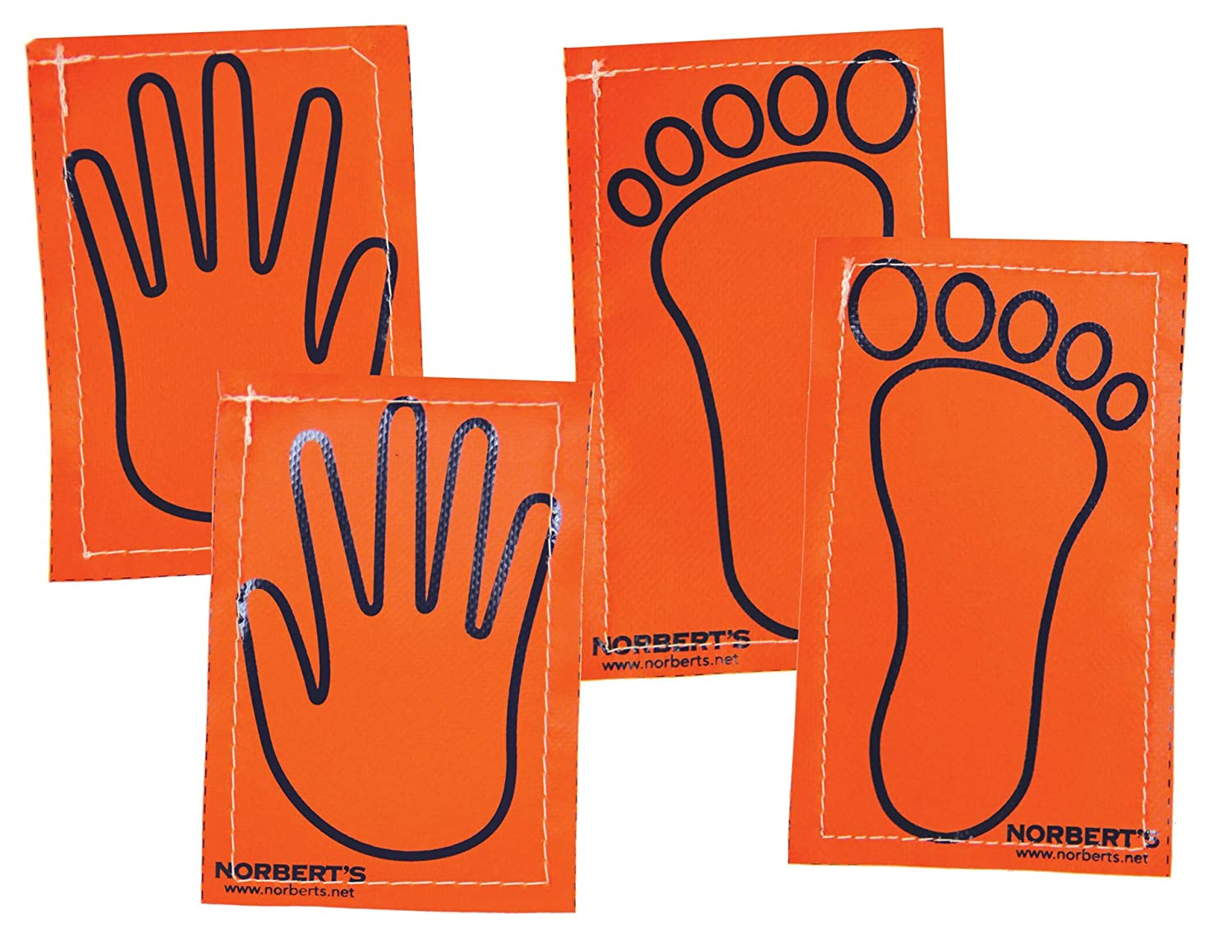 Norbert\'s Athletic Products GF-145 Sticky Vinyl Hands and Feet, Random 71GxN1CGceL