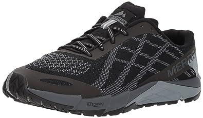 8cdb5a3b63 Merrell Bare Access Flex E-Mesh Women's Trail Running Shoes - 3.5 Black
