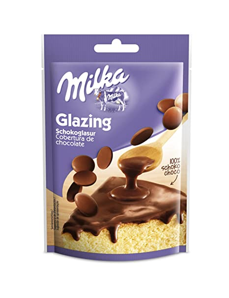 Cobertura royal chocolate milka 100g (Pack de 4)