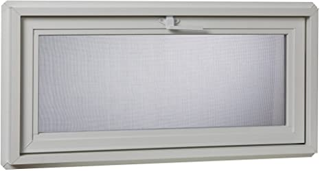 Park Ridge Products VAW3218PR Insulated Vinyl Awning Window 32 x 18 White