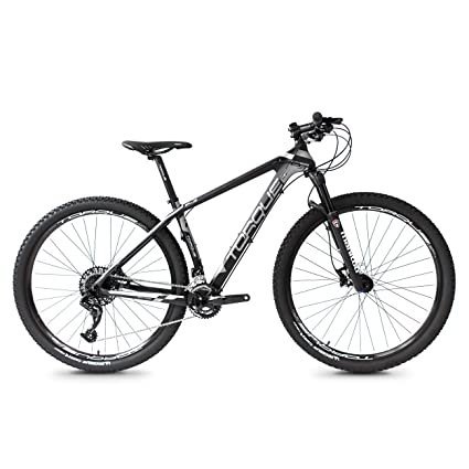 Carbon Fiber Mountain Bike >> Amazon Com Torque Bikes 29 Inch Carbon Fiber Mountain Bike 17