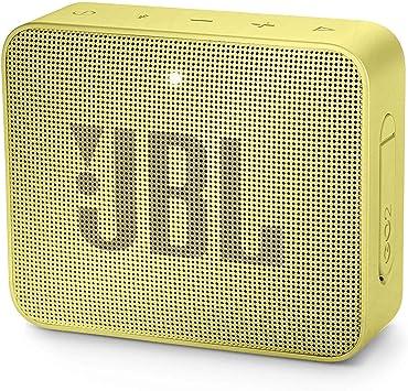 Oferta amazon: JBL GO 2 - Altavoz inalámbrico portátil con Bluetooth - Parlante resistente al agua (IPX7) - hasta 5h de reproducción con sonido de alta fidelidad - Amarillo