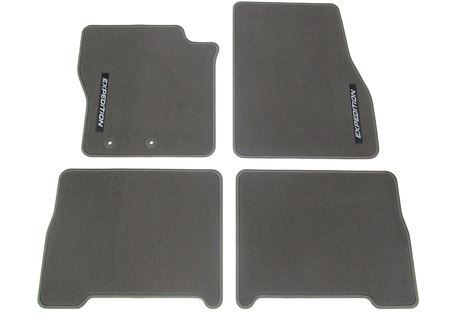 Amazon com ford expedition floor mats carpeted 4 piece greystone front and rear automotive