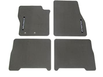 Ford Expedition Floor Mats Carpeted  Piece Greystone Front And Rear