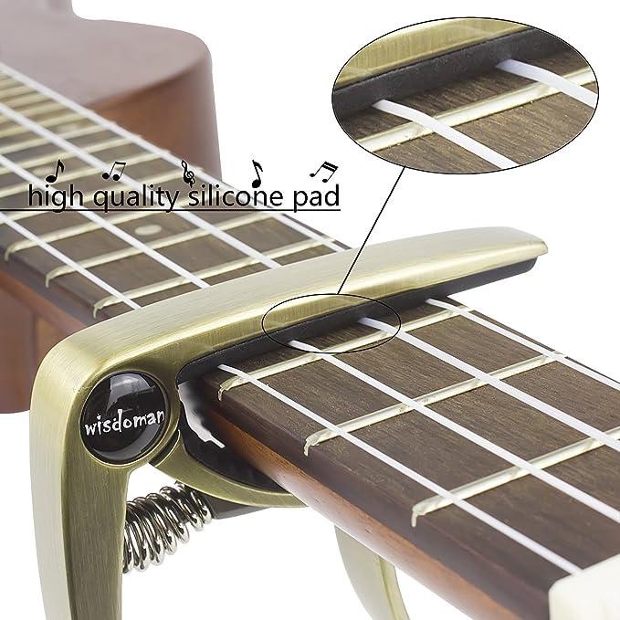 Cejilla monomanual para guitarra acústica, eléctrica, clásica ...