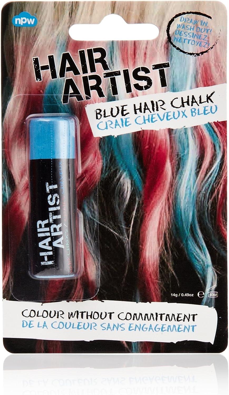 Tiza para el pelo de color azul: Amazon.es: Belleza