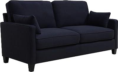 Amazon Com Benchcraft Aldie Nuvella Contemporary Sofa
