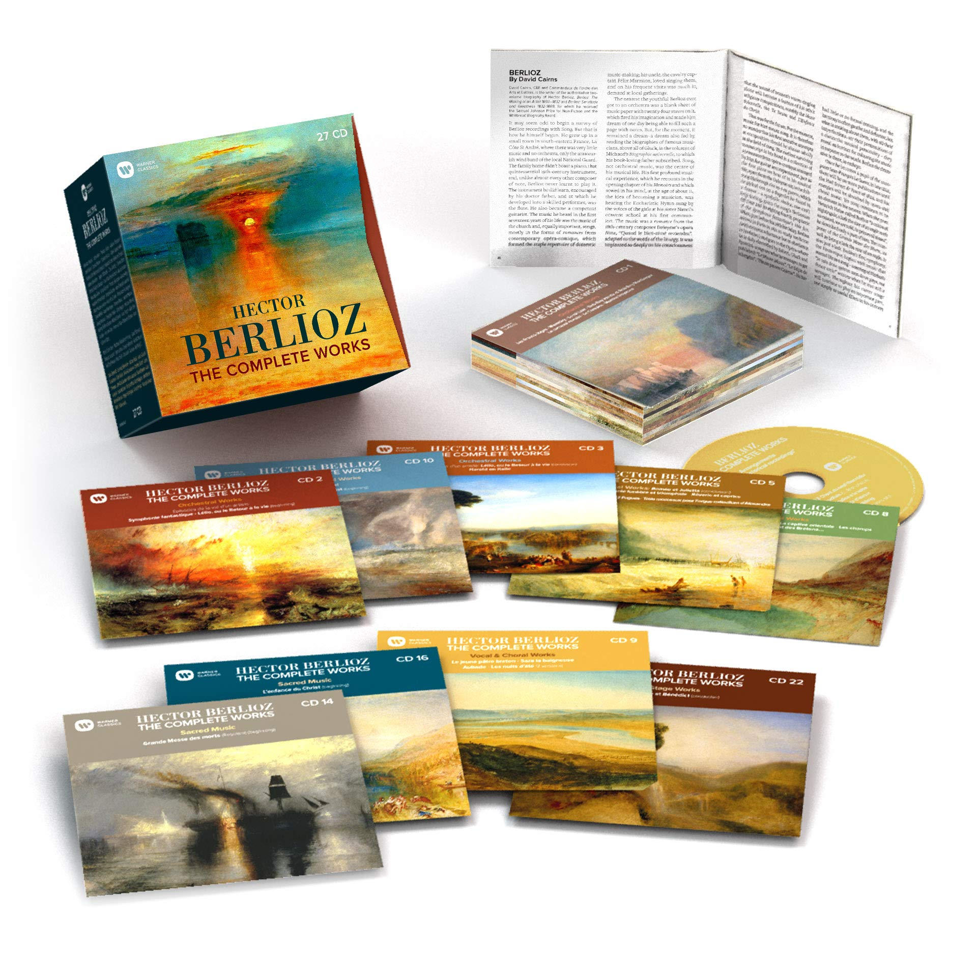 CD : VARIOUS ARTISTS - Berlioz: Complete Works (CD)