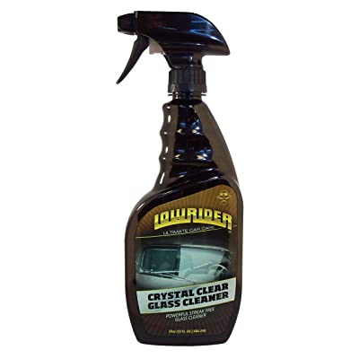 Lowrider LD833-23 Crystal Clear Glass Cleaner - 23 oz.: Automotive